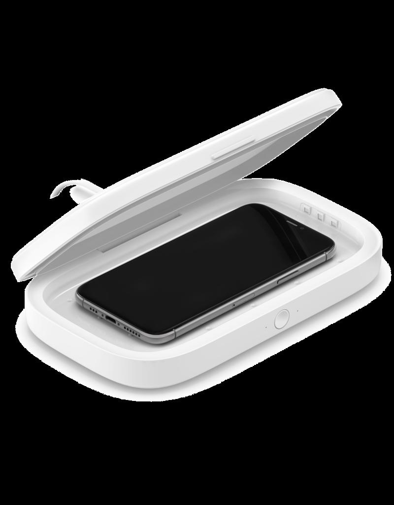 Belkin Belkin Boost Charge UV Sanitizer with Wireless Charging 10W - White