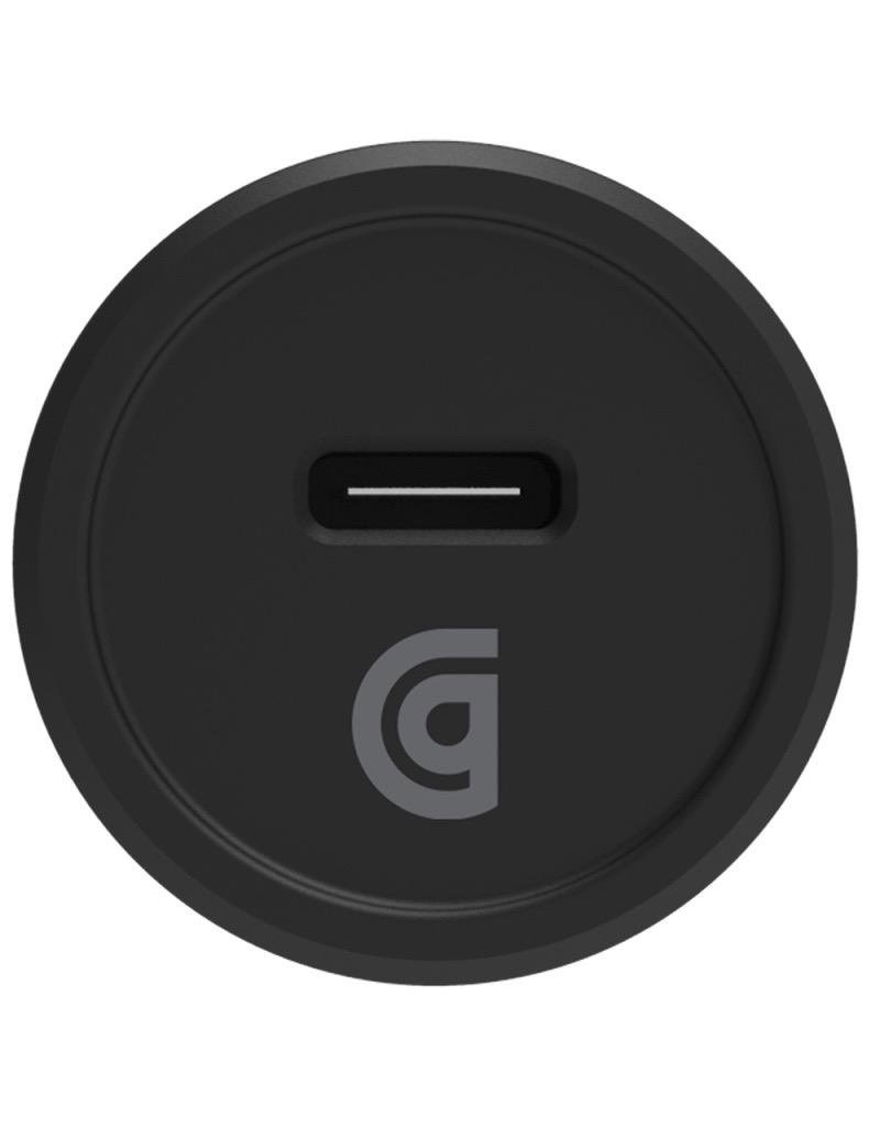 Griffin Griffin Single Port Car Charger 15W for Type C Devices - Black