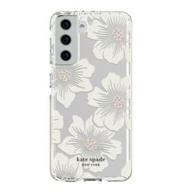Kate Spade Kate Spade Hardshell Case for Samsung Galaxy S21 5G - Hollyhock Floral