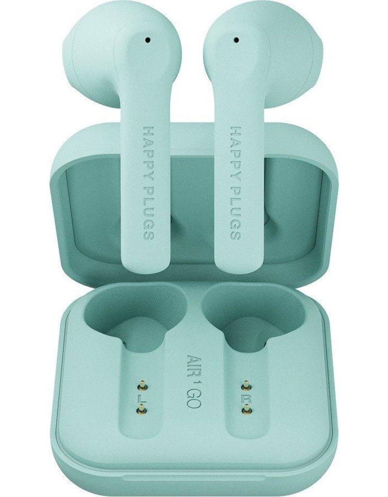 Happy Plugs Happy Plugs Air 1 Go True Wireless Headphones - Mint