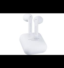 Happy Plugs Happy Plugs Air 1 Go True Wireless Headphones - White