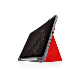 STM STM Dux Plus Duo, Ultra-Protective case for Apple iPad 8th/7th Gen - Red