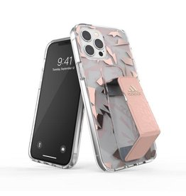 Adidas Adidas Sport Grip Case Clear FW20 for iPhone 12 and 12 Pro - Pink Tint