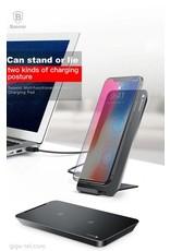 Baseus Baseus Multifunctional Wireless Charging Pad With Desktop Holder - Black