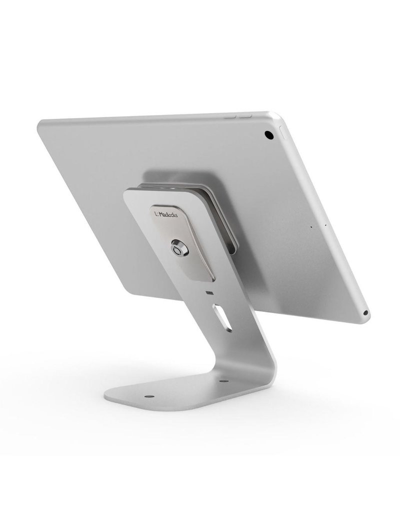 Compulocks Compulocks HoverTab Universal Security Lock Stand for iPad and Tablet - Silver