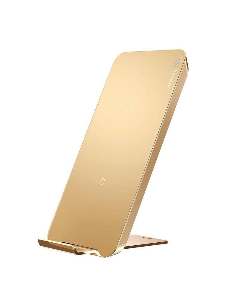 Baseus Baseus Multifunctional Wireless Charging Pad With Desktop Holder - Gold