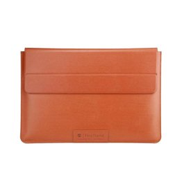 """SwitchEasy SwitchEasy Leather EasyStand+Sleeve for Macbook Pro /Air 13"""" - Saddle Brown"""