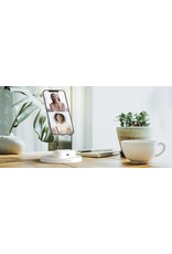 Belkin Belkin Boost Charge Pro 2-In-1 MagSafe Wireless Charging  Stand - White