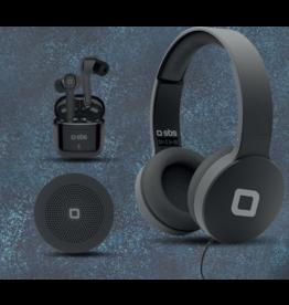 SBS Wireless Speaker + Wired Headset + Wireless Stereo Earset