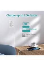 Choetech Choetech USB-C PD Charger 20W UK - White