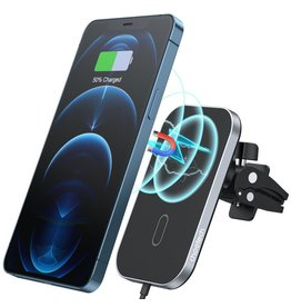 Choetech Choetech MagLeap Magnetic Wireless Car Charger Air Vent - Black