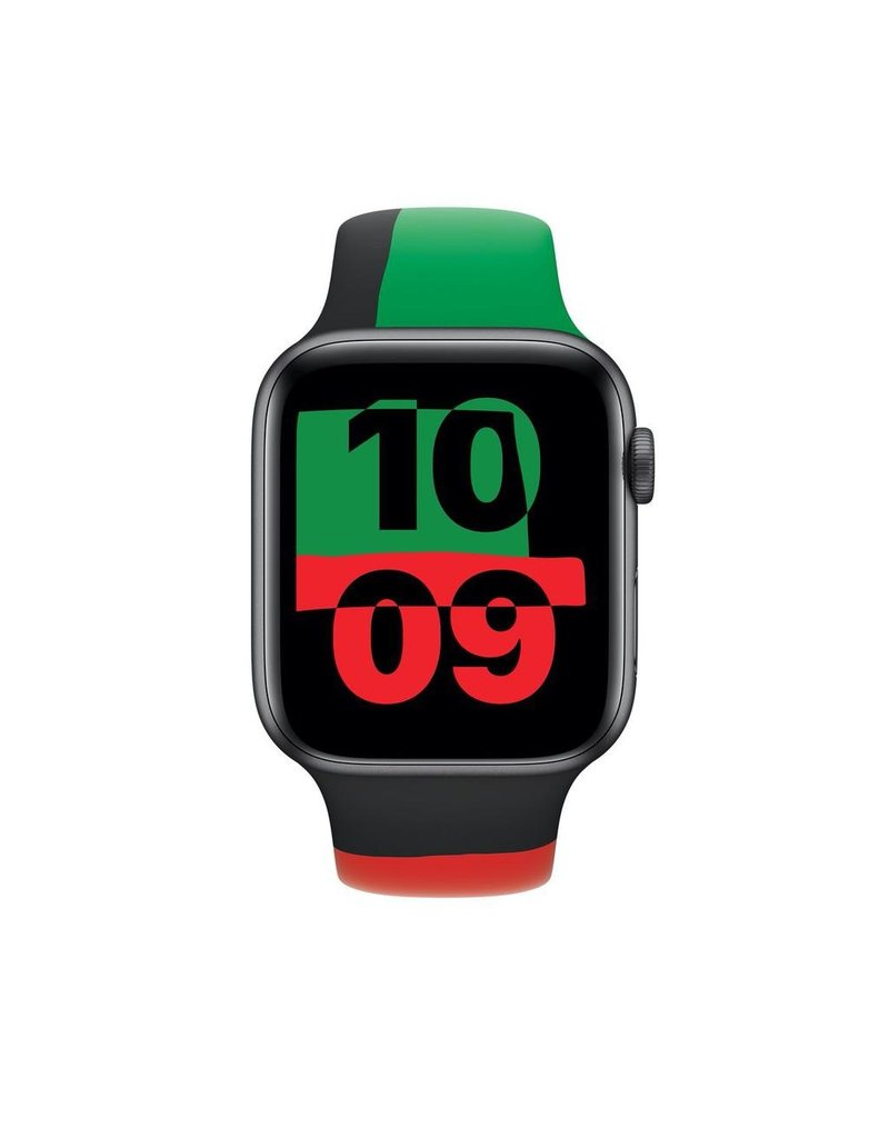 Apple Apple Watch Sport Band Regular 42/44mm - Black Unity
