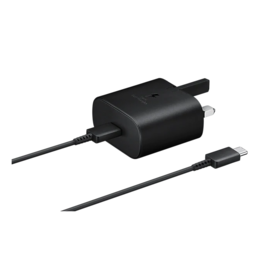 Samsung Samsung Travel Adapter Super Fast Chargeing 25W With USB Type-C to Type-C Cable - Black