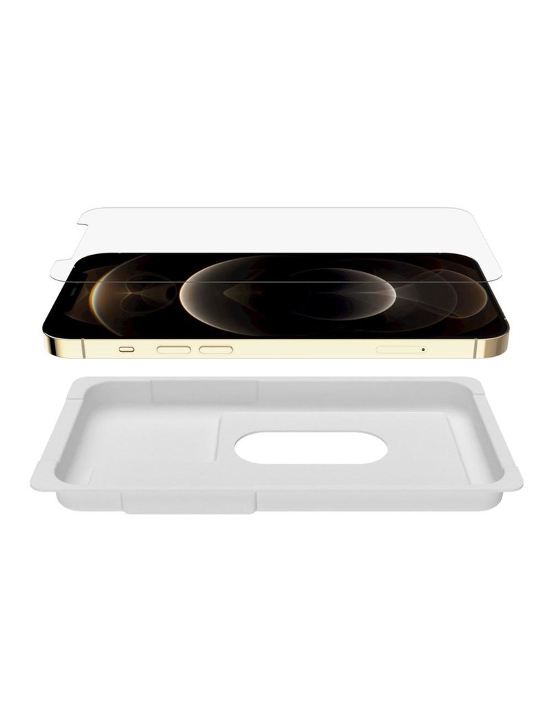 Belkin Belkin Screenforce Ultra Glass Anti Microbial Screen Protector for iPhone 12 Pro Max - Invisible