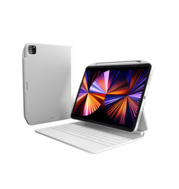 """SwitchEasy SwitchEasy CoverBuddy Case for 2021-2018 iPad Pro 11"""" and 2020 iPad Air 10.9"""" - White"""