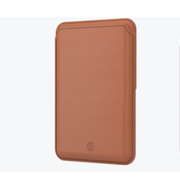 SwitchEasy SwitchEasy MagWallet Leather Wallet with MagSafe for iPhone 12 / 12 Pro / 12 Pro Max - Saddle Brown