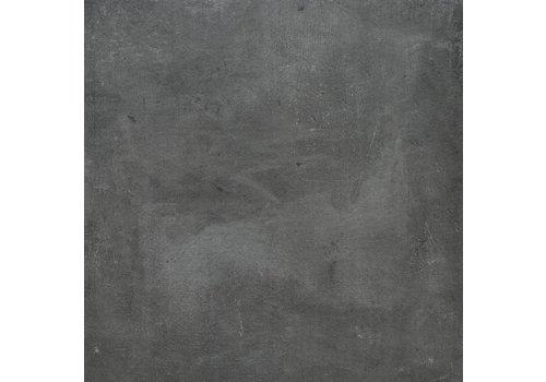 Vloertegel: Rak Cementina Dark antracite 60x60cm