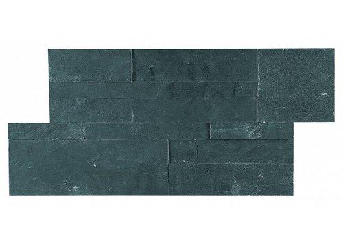 Mozaiek: Dekostock Estratos Negro 18x35cm