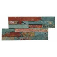 Mozaiek: Dekostock Estratos Oxido 18x35cm