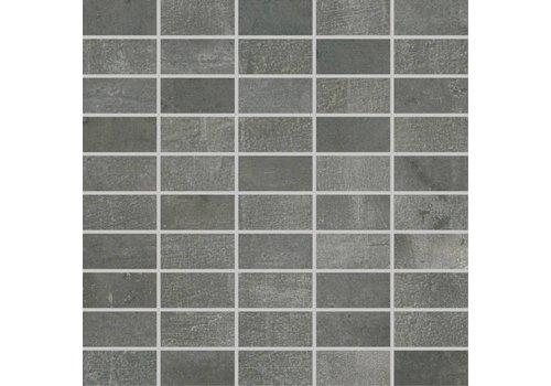 Mozaiek: Rak Mos Antracite 30x30cm