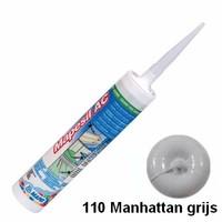 Mapei Mapesil AC 110 310 ml siliconenkit manhattan grijs
