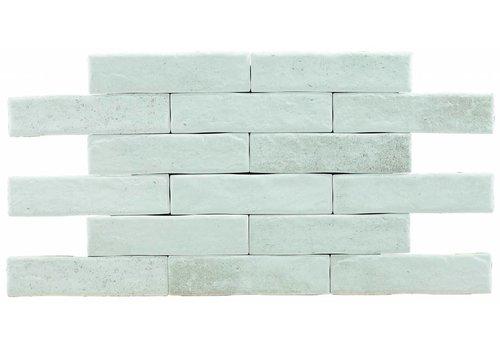 Brick: Pamesa Brickwall Wit 7x28cm