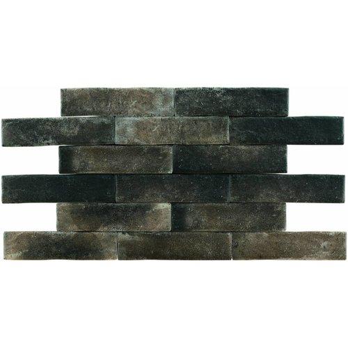 Brick: Pamesa Brickwall Grafito 7x28cm