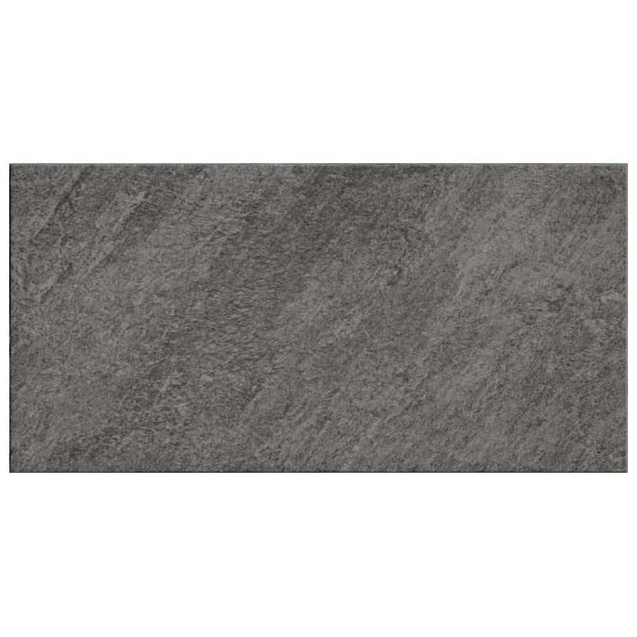 Vloertegel: Pastorelli View Black 30x60cm