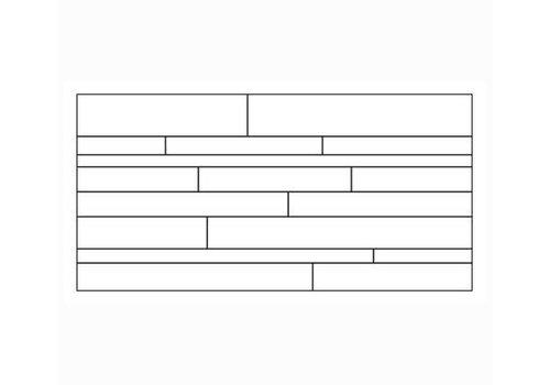 Brick: Pastorelli View Zwart 30x60cm
