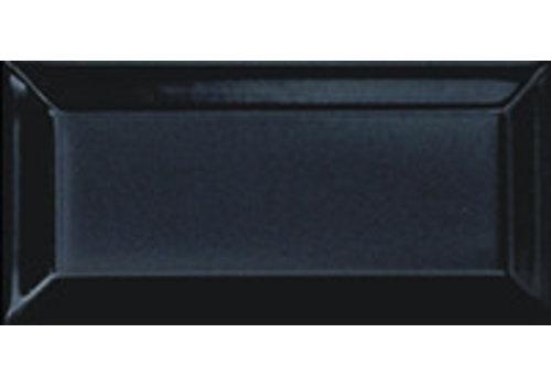 Wandtegel: Primus Metro Zwart 10x20cm
