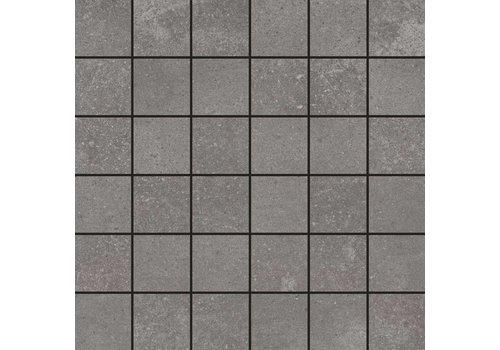 Mozaiek: Aleluia Avenue Anthracite 29,5x29,5cm
