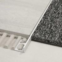 Schluter SCHIENE-AE 12,5x3000 mm alu profiel geanod AE125300