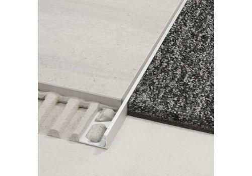 Schluter SCHIENE-E 12,5x3000 mm rvs profiel E125300