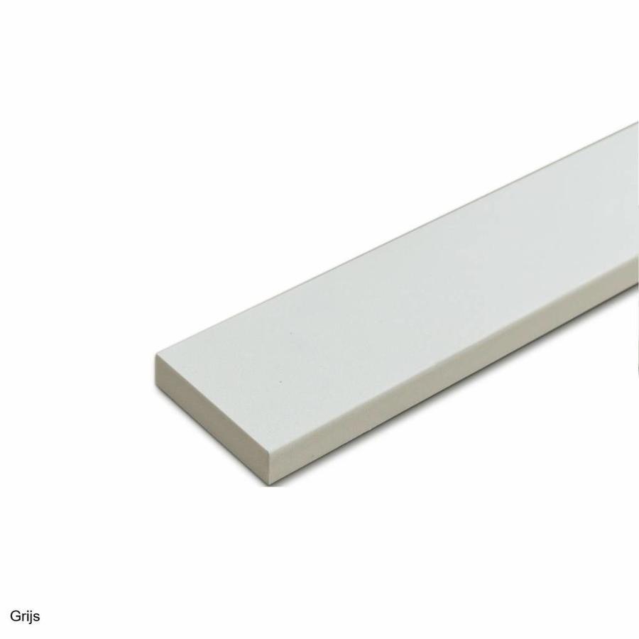 DuraStyle dorpel 1000x40x40 mm composietsteen grijs