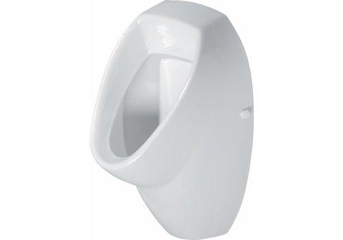 Cersanit Pure urinoir set wit afv achter incl Grohe spoeler