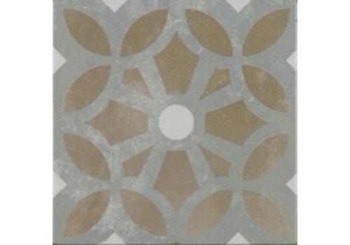 Vloertegel: Pamesa Art Bruin 22,3x22,3cm