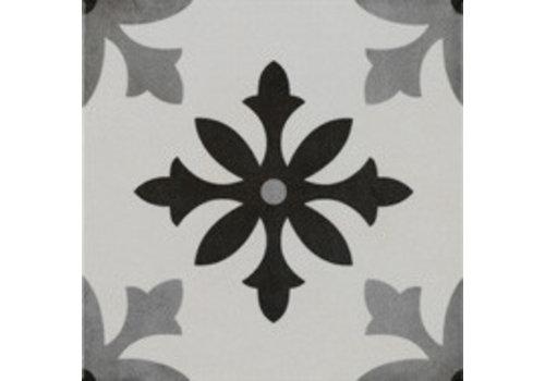 Vloertegel: Pamesa Art Degas blanco 22,3x22,3cm