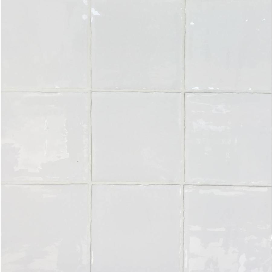 Wandtegel: Dreamtile Handmade glossy White 13x13cm