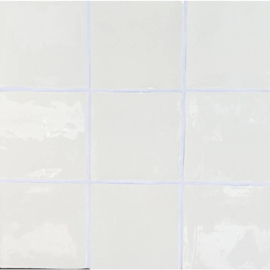 Wandtegel: Dreamtile Handmade glossy Cream 13x13cm