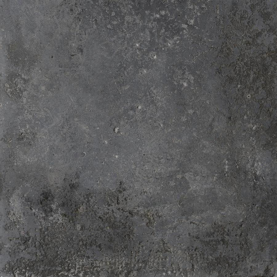 Vloertegel: Isla Stone-pit Nero 60x60cm