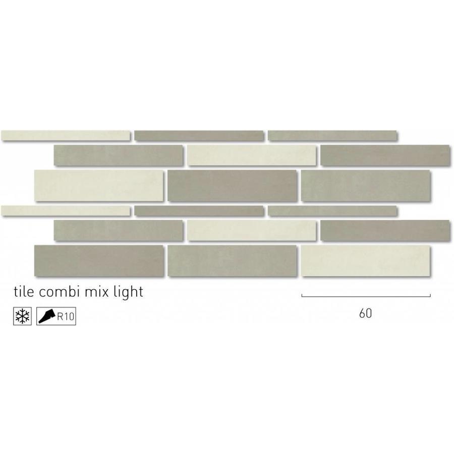 Vloertegel: Rak Earth Beige 15x60cm