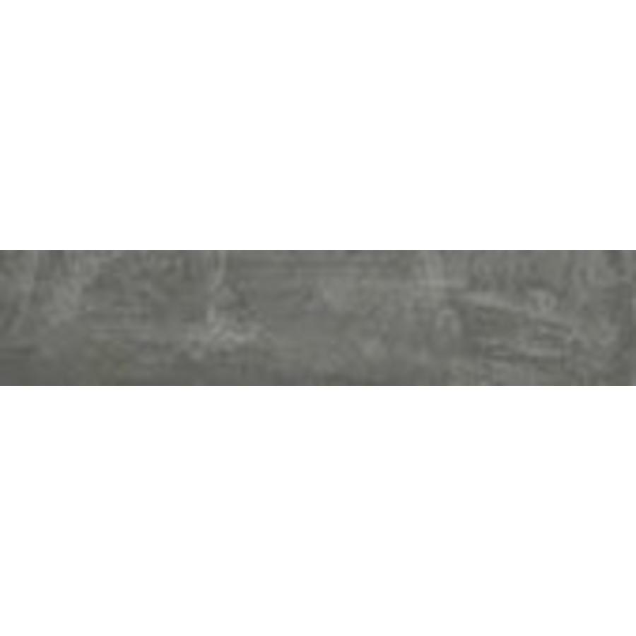 Vloertegel: Rak Cementina Antracite 10x60cm