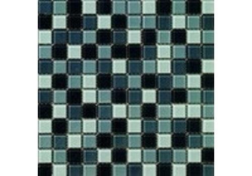 Mozaiek: Dekostock Malla Christal Gris brillo 29,8x29,8cm