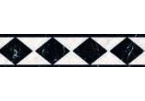 Strip: Cinca Imperial Black urano 6,5x25cm