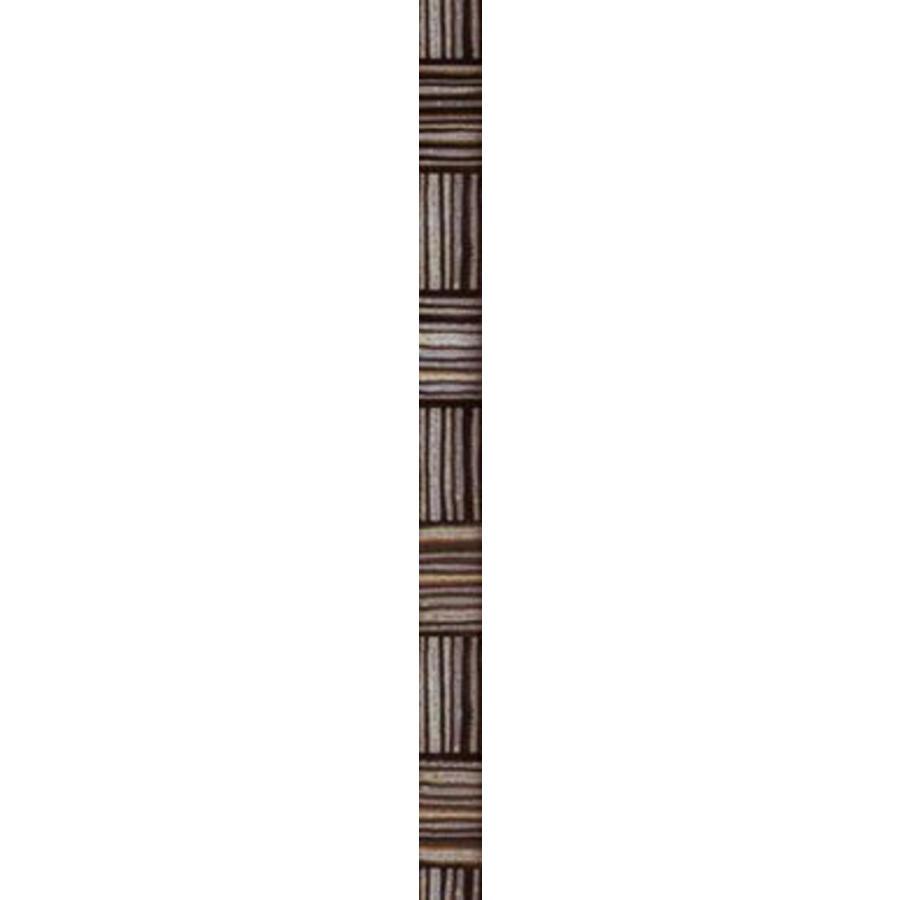 Strip: Cinca Genesis Zwart 4x55cm