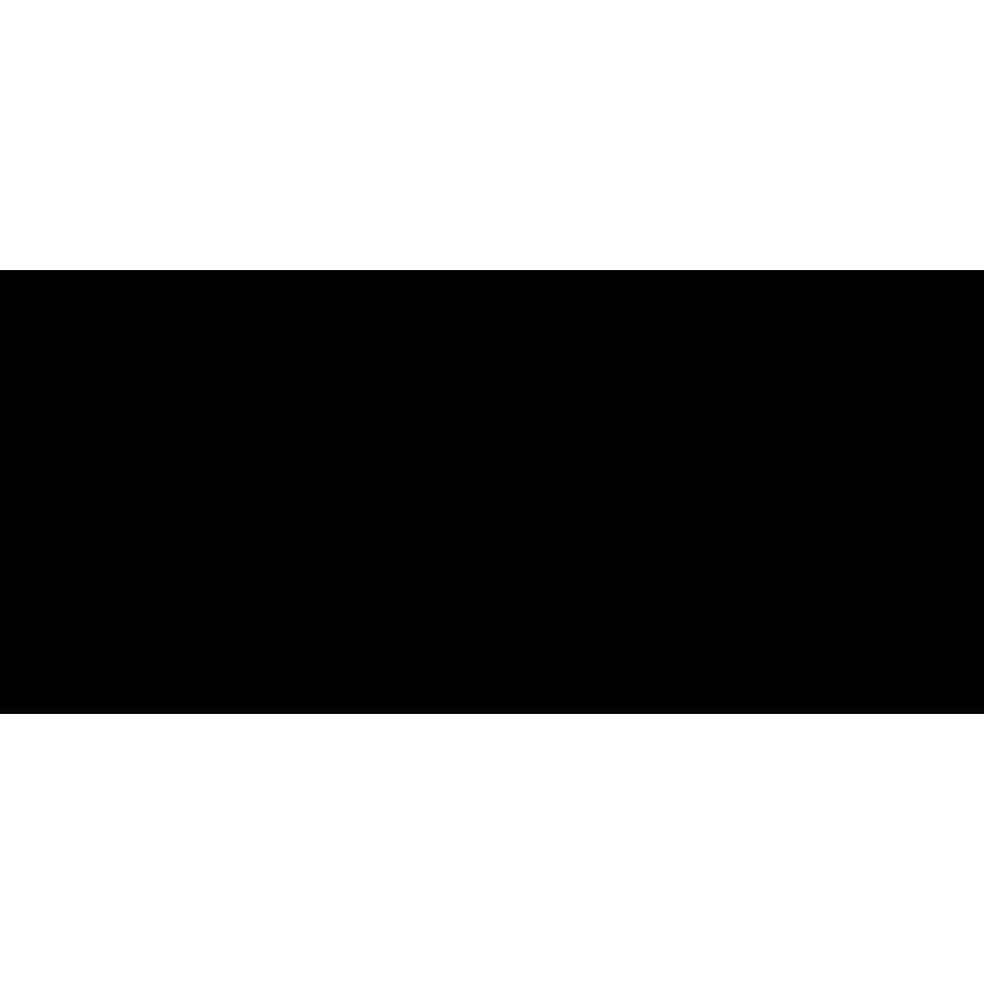Wandtegel: Cinca Bel Air Black 25x55cm