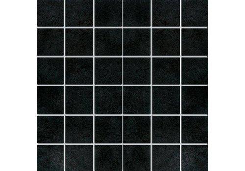 Mozaiek: Nordceram Loft Anthrazit 33x33cm