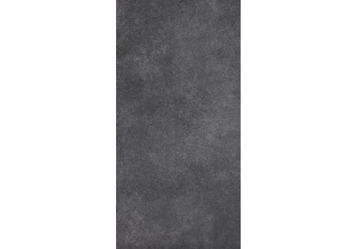 Vloertegel: Nordceram Gent Anthrazit 30x60cm
