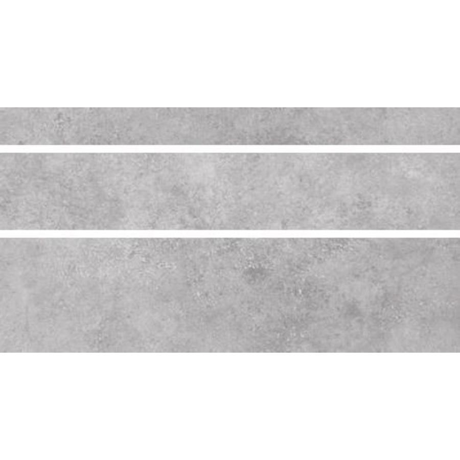 Vloertegel: Nordceram Gent Grau 15x60cm