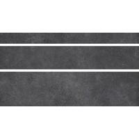 Vloertegel: Nordceram Gent Anthrazit 15x60cm